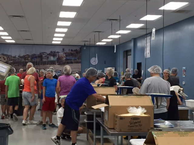 Feed My Starving Children Volunteers