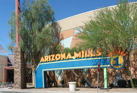 Arizona Mills Mall Entry 1