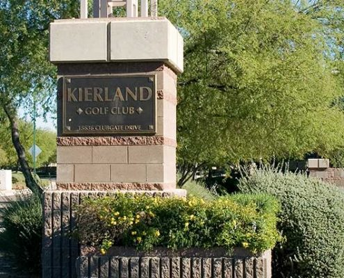 Kierland Golf Entrance