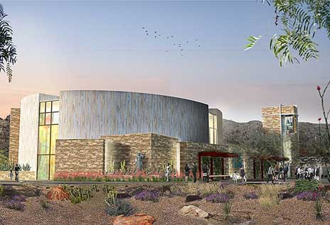 Rendering of Franciscan Renewal Center